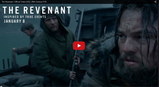 The Revenant movie trailer