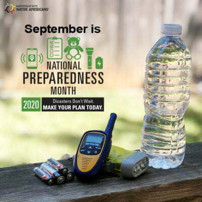 September is National Preparedness Month. Make your plan today.